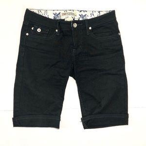 {YMI} Black Pedal Pusher Pants